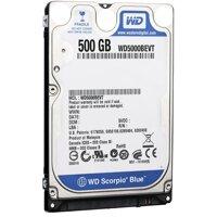 Ổ cứng HDD Laptop Western Digital Scorpio Blue 500 GB