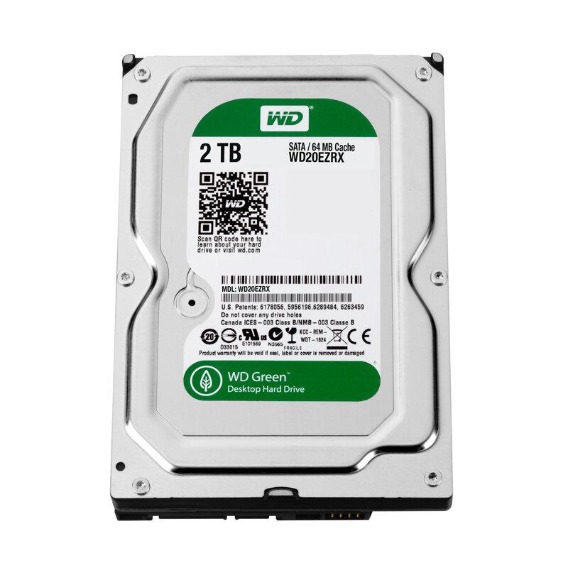 Ổ cứng HDD Western Digital Green 2TB WD20EZRX
