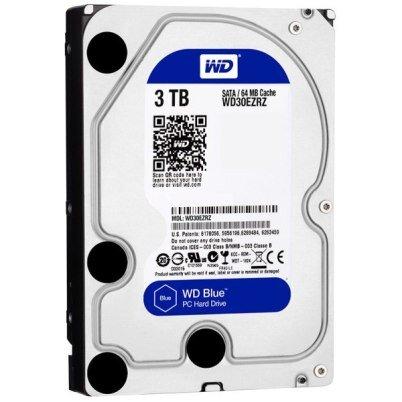 Ổ cứng HDD Western Digital Caviar Blue - 3TB, 64MB Cache