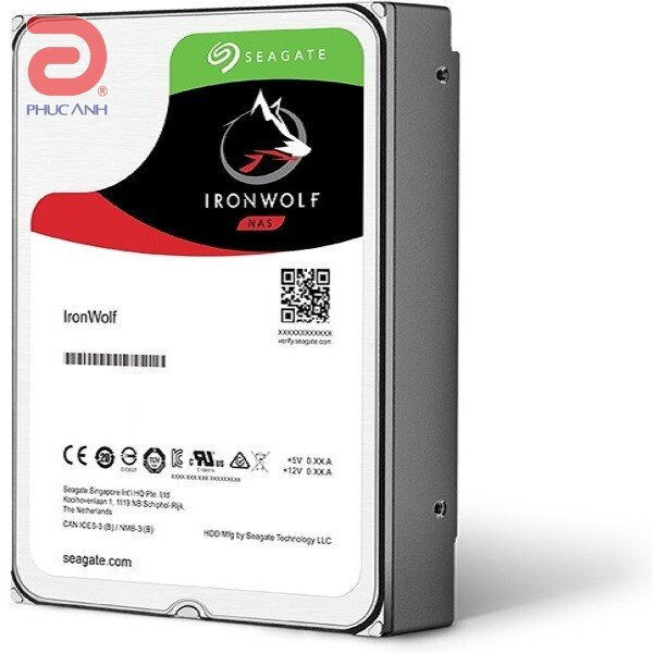Ổ cứng Seagate Ironwolf 8TB 7200rpm