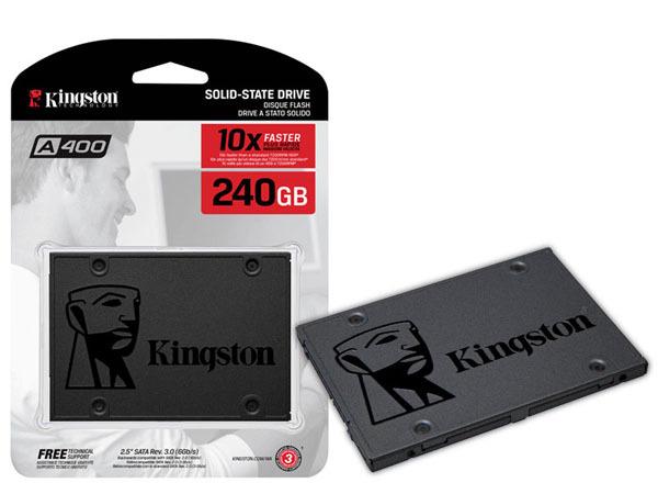 Kết quả hình ảnh cho SSD Kingston SSD A400 240GB