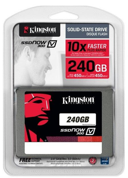 Ổ cứng SSD Kingston SSDNow V300 240GB/ Sata 3 - SV300S37A/240G