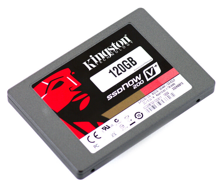 """Ổ cứng SSD Kingston SSDNow V200 120GB/ Sata 3/ 2.5"""" (Đọc 535MB/s, Ghi 480MB/s) -SVP200S3B7A/120G"""