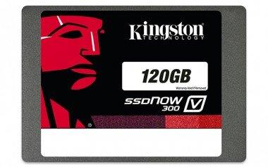 """Ổ cứng SSD Kingston SSDNow V300 120GB/ Sata 3/ 2.5"""" (Đọc 450MB/s, Ghi 450MB/s) - SV300S37A/120G"""