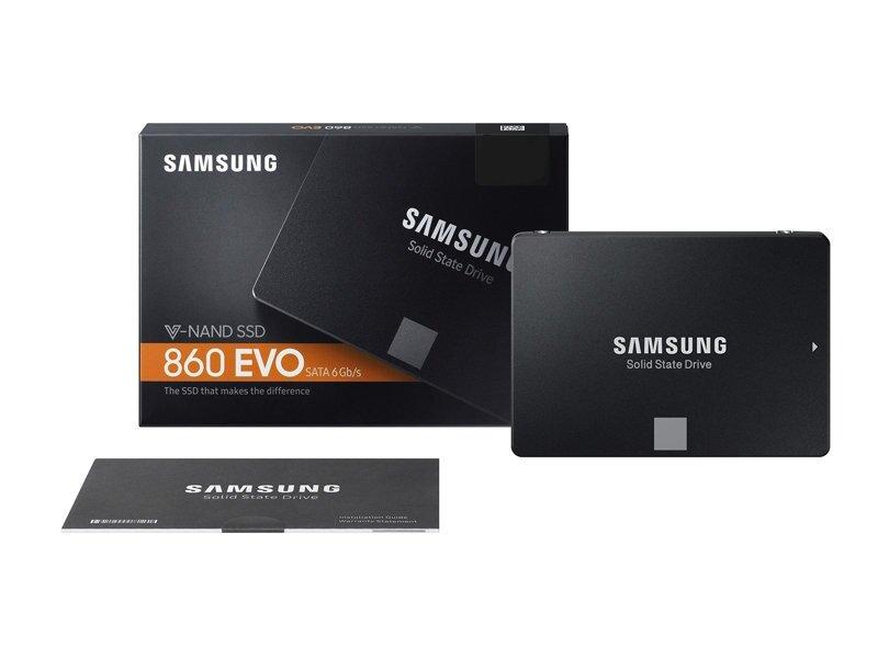 Ổ Cứng SSD Samsung 860 evo 2TB 2.5-inch sata iii MZ-76E2T0BW