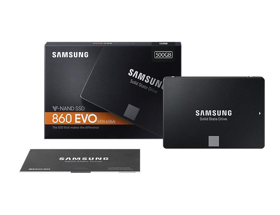 Ổ Cứng SSD Samsung 860 evo 500gb 2.5-inch sata iii MZ-76E500BW