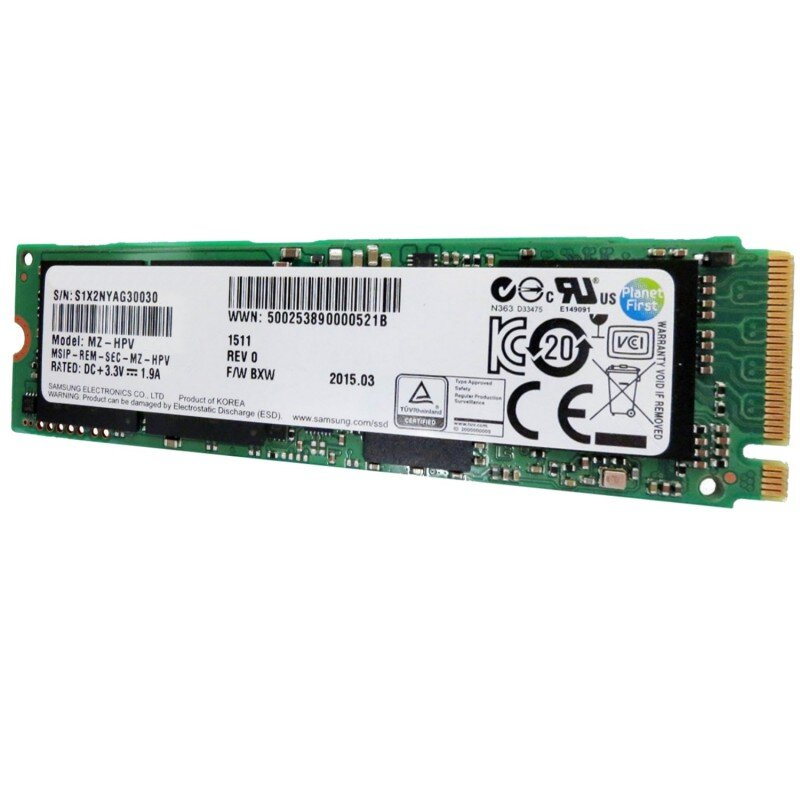 Ổ cứng SSD Samsung M2 PCIE NVME SM961 - 256GB