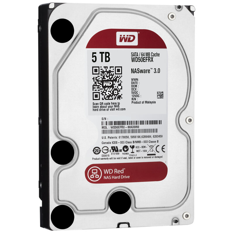 """Ổ cứng  WD HDD Caviar Red 5TB 3.5"""" WD50EFRX"""