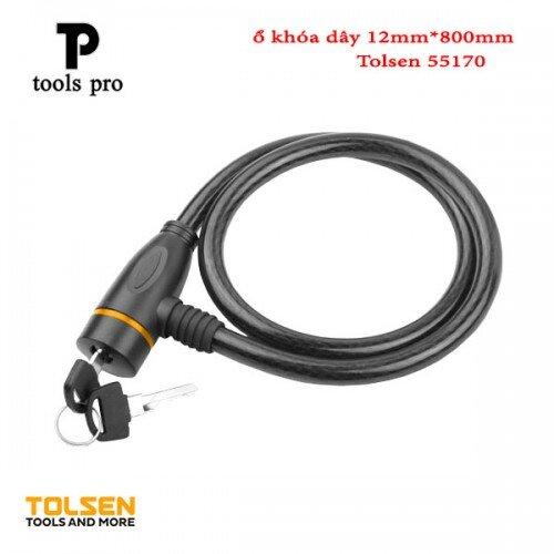 Ổ khóa dây Tolsen 55170