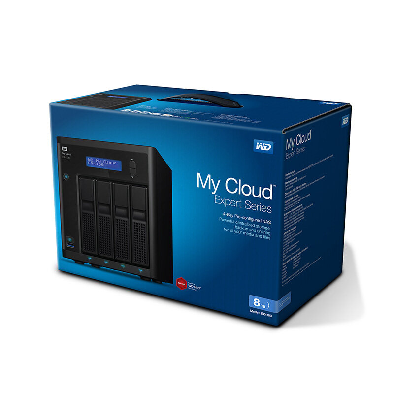 Ổ lưu trữ mạng Western Digital My Cloud EX4100 (chưa có ổ cứng)