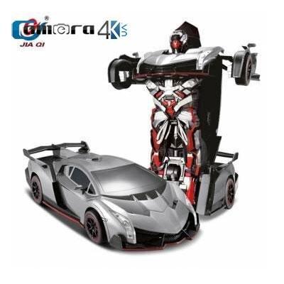 Ô tô biến hình Robot điều khiển từ xa Jiaqi TT667