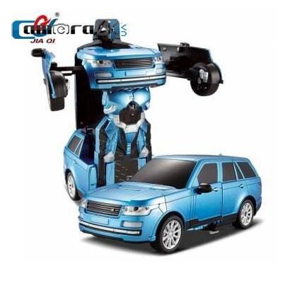 Ô tô biến hình Robot điều khiển từ xa Jiaqi TT651