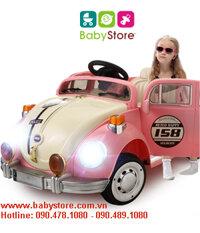 Ô tô điện trẻ em JE158 kiểu cổ Volkswagen