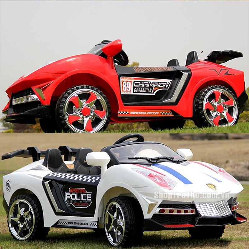 Ô tô điện trẻ em mẫu xe Lamborghini 2117 (2 động cơ)