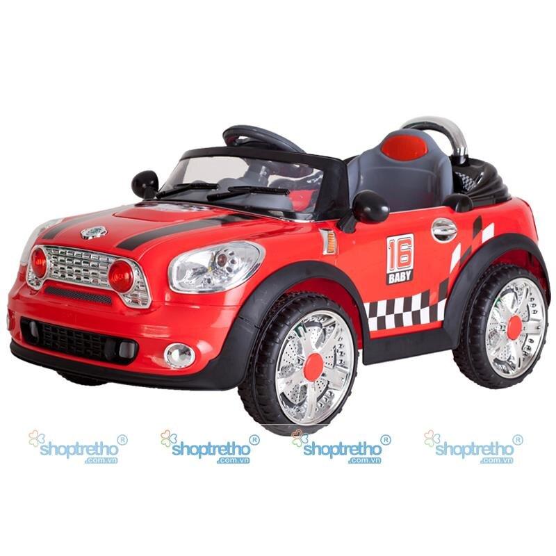 Ô tô điện trẻ em Mini Cooper - JE118 nhiều màu sắc