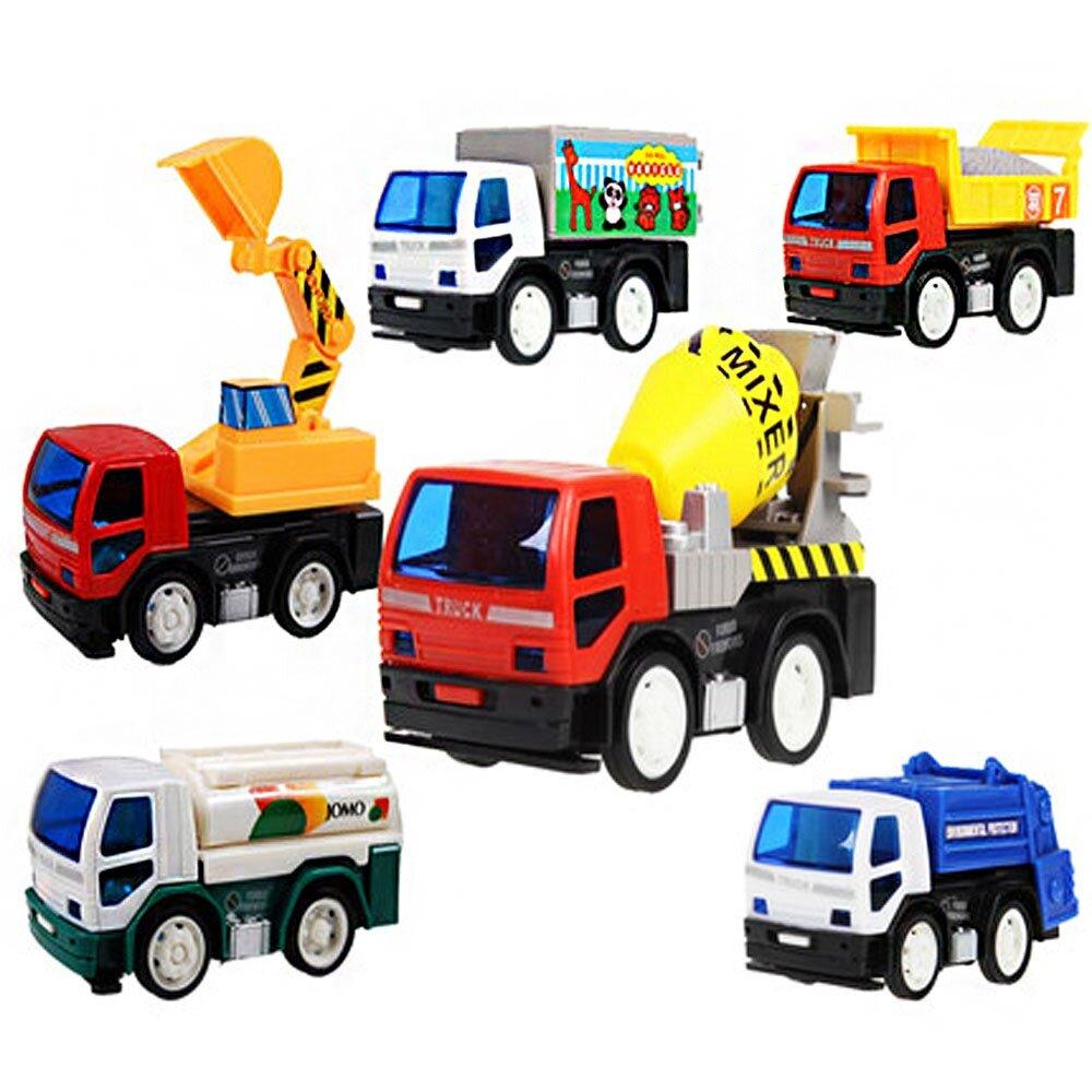 Ô tô đồ chơi công trình 6 món OCT6X