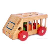 Ô tô thả hình gỗ Kitty