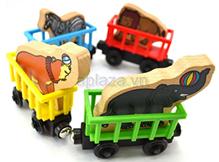 Đồ chơi gỗ xe chở thú DG1-004