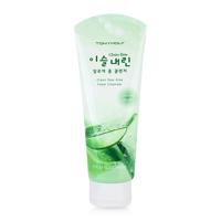 Sữa rửa mặt cho da khô Tonymoly Clean Dew Aloe Foam Cleanser 180ml