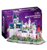 Đồ chơi mô hình 3D - Neuschwanstein Castle (LED) - L174H