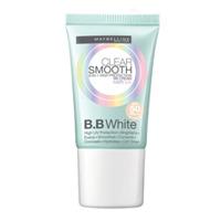Kem nền trang điểm chống nắng vượt trội Maybelline Clear Smooth BB White SPF50 PA+++