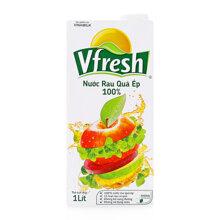 Nước ép rau quả Vfresh Vinamilk hộp 1L