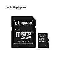 Thẻ nhớ Micro SD Kingston 4Gb ! - Thẻ nhớ Micro SD Kingston 4Gb