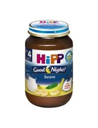 Dinh dưỡng đóng lọ HiPP cháo sữa Chúc ngủ ngon Chuối sữa (190g)