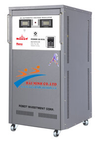 Ổn áp Robot 1 pha 30KVA 140V-240V