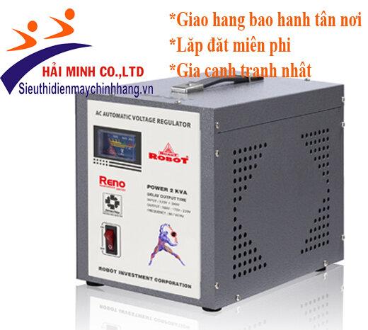 Ổn áp Robot 2KVA (90V - 240V)