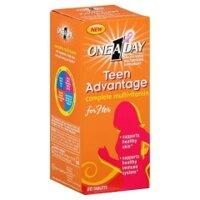 One A Day Teen Advantage for Her 80 viên - Bổ Sung vitamin Và Khoáng Chất Cho Nữ Giới Tuổi Dậy Thì