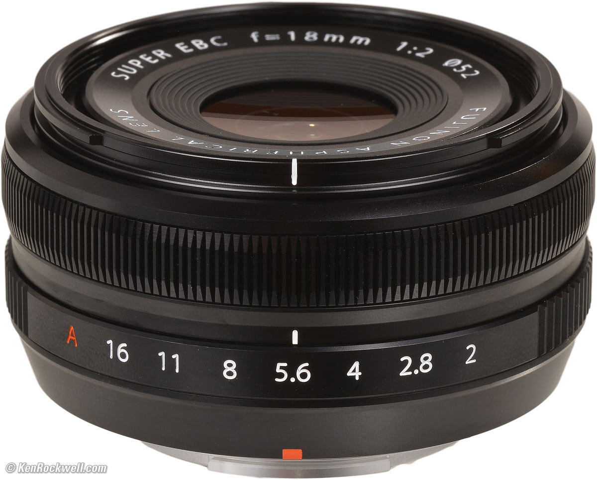 Ống kính Fujifilm XF 18mm F2 R