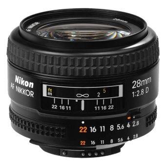Ống kính Nikon AF Nikkor 28mm f/2.8D