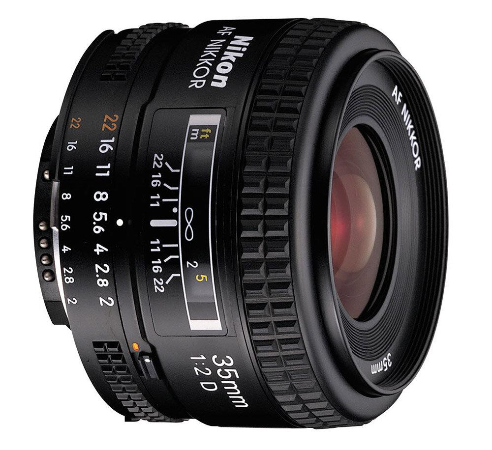 Ống kính Nikon AF Nikkor 35mm f/2D