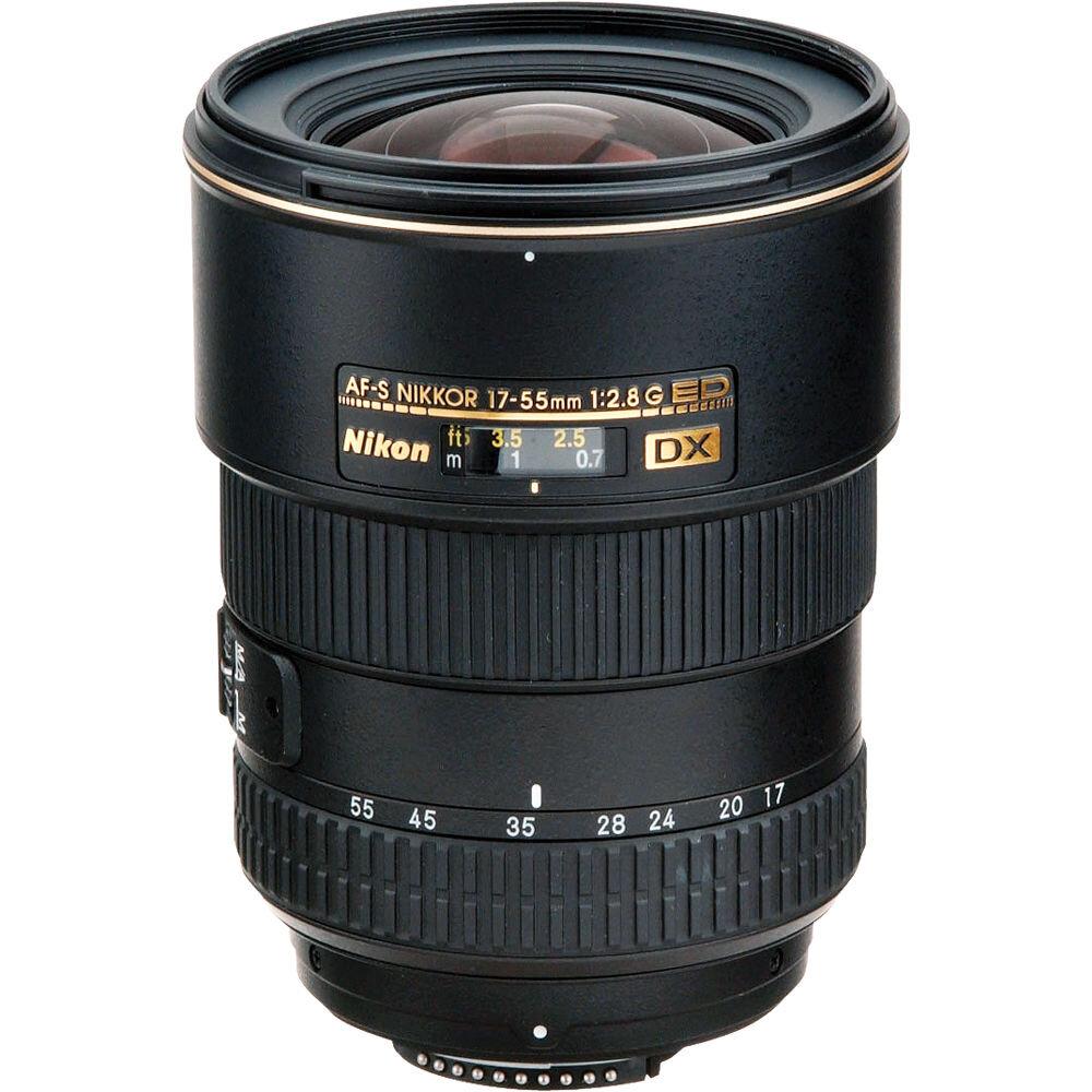 Ống kính Nikon AF-S 17-55mm F/2.8G ED-IF DX