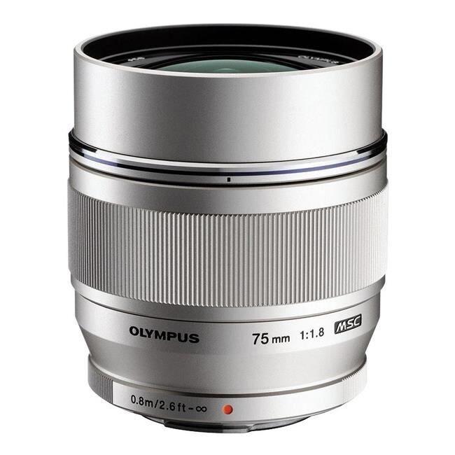Ống kính Olympus M.Zuiko Digital 75mm F1.8