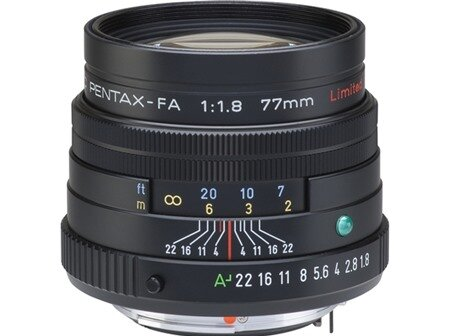 Ống kính Pentax smc FA 77mm F1.8 Limited