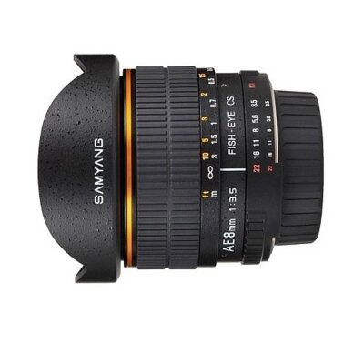 Ống kính Samyang 8mm F3.5 Fish-eye VDSLR CSII