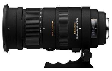 Ống kính Sigma APO 50-500mm F4.5-6.3 DG OS HSM