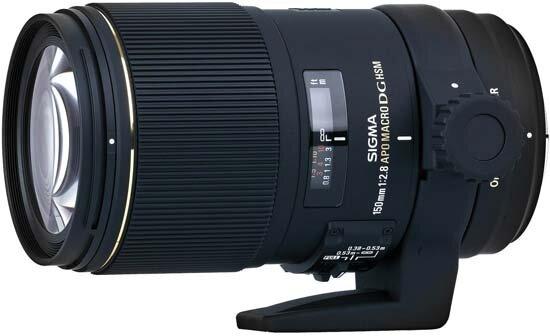 Ống kính Sigma APO MACRO 150mm F2.8 EX DG OS HSM