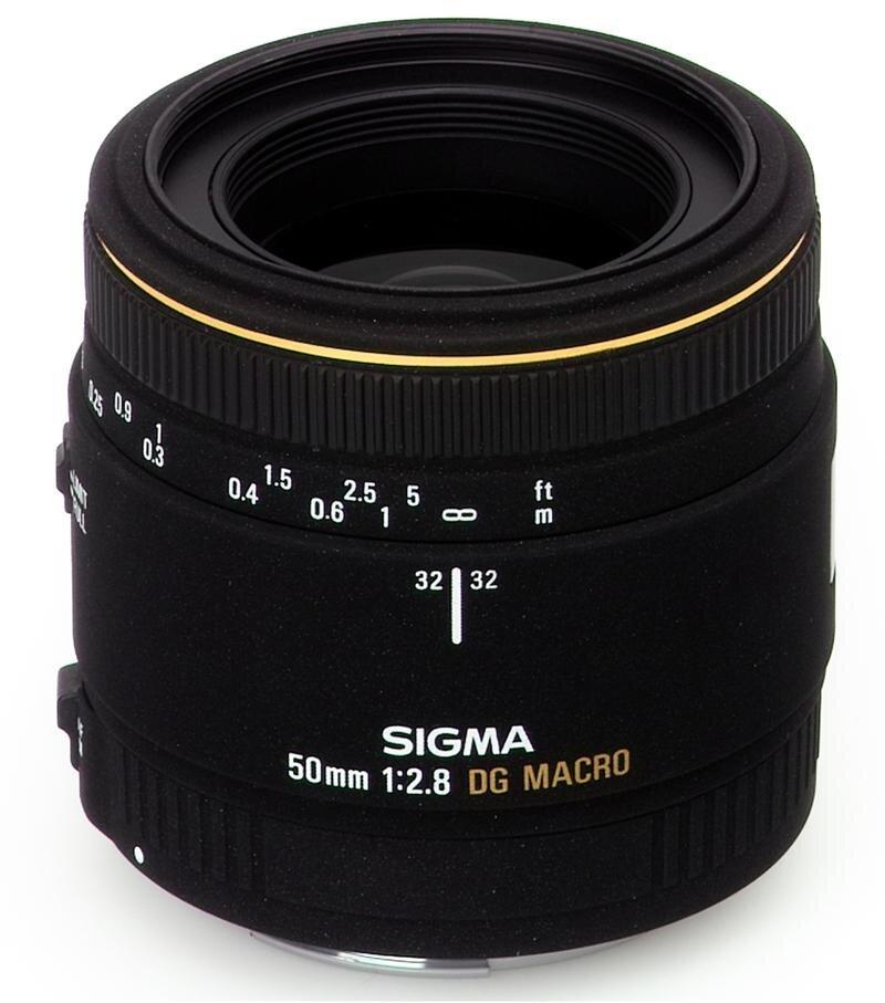 Ống kính Sigma MACRO 50mm F2.8 EX DG