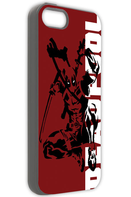 Ốp iPhone Deadpool 01