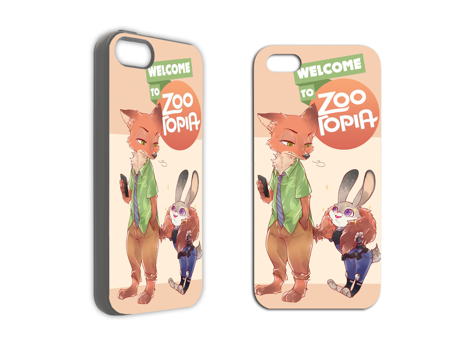 Ốp iPhone Zootopia 01