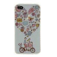 Ốp lưng iPhone 4/4S Nhựa dẻo mỏng Love