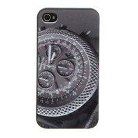 Ốp lưng iPhone 4/4S nhựa in Đồng hồ