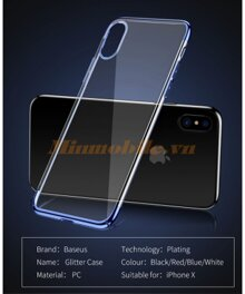 Ốp lưng iphone X Baseus
