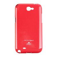 Ốp lưng Jelly Mercury Samsung Galaxy Note 2 Đỏ