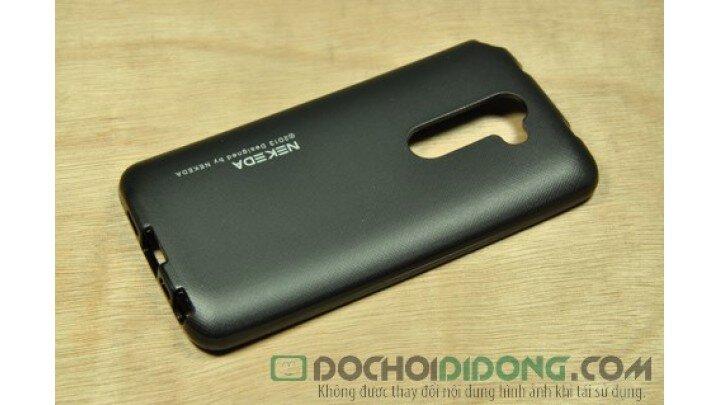 Ốp lưng LG G2 F320 Nekeda vân kim loại