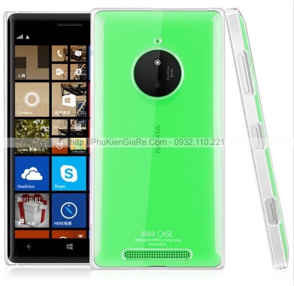 Ốp lưng Lumia 830 imak trong suốt