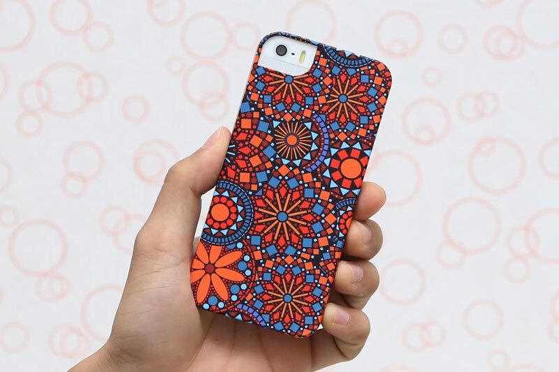 Ốp lưng nhựa Iphone 5/5s Icover Pháo Hoa
